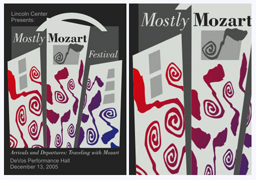 Mostly Mozart Poster